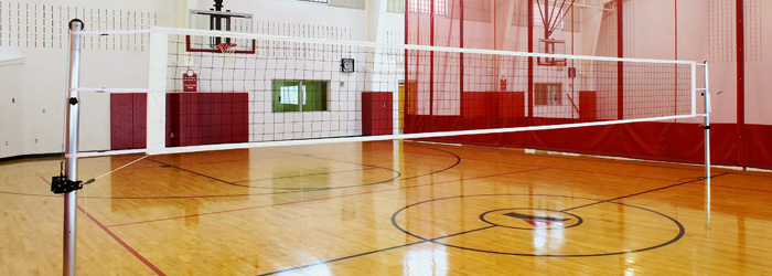 Stunning Indoor Volleyball Court Gallery - Interior Design Ideas ...
