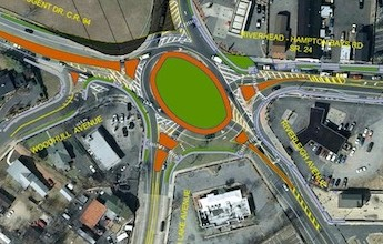 County Restores Funding for Riverside Traffic Circle